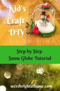Snow Globe Tutorial
