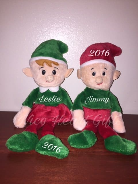 Adorable Dollar Tree Personalized Elves