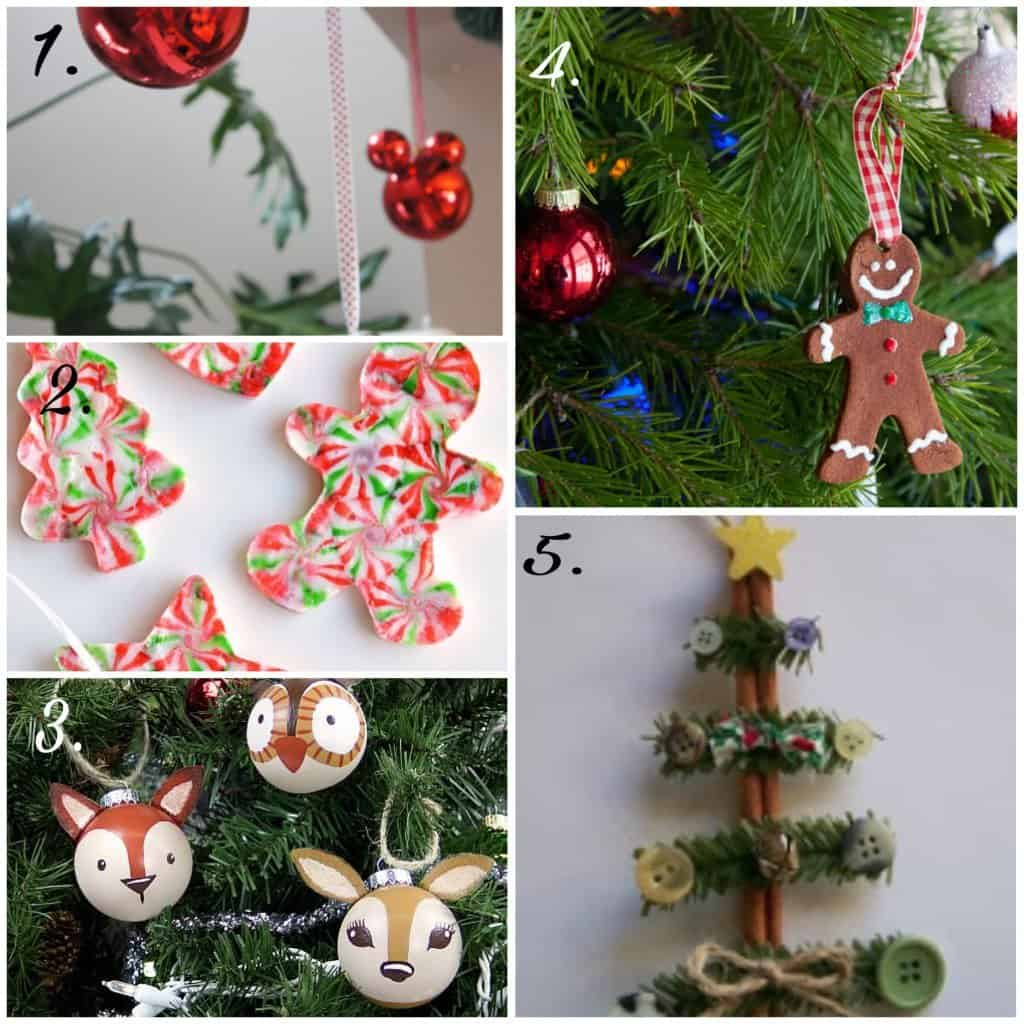 5 Awesomely Easy & Fun DIY Christmas Ornaments