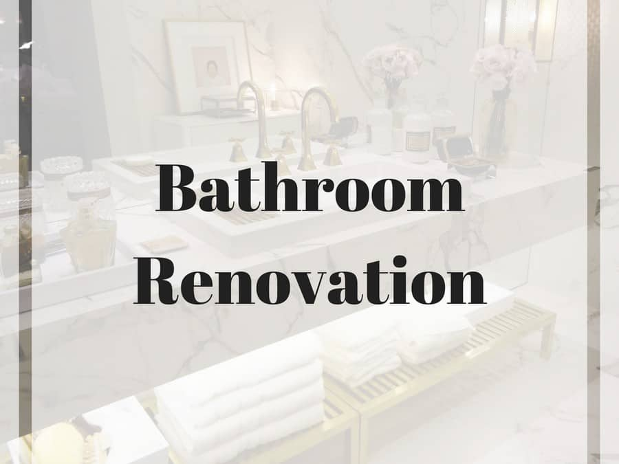 DIY Bathroom Remodel On A Budget Before And After