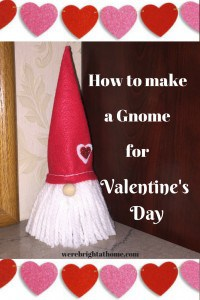Valentine's Day Gnome by We're Bright At Home