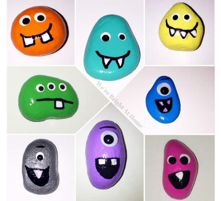 8 Ultimate Painted Rock Monsters For Kids To Make That Will Blow Your Mind