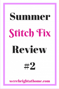 Summer Stitch Review