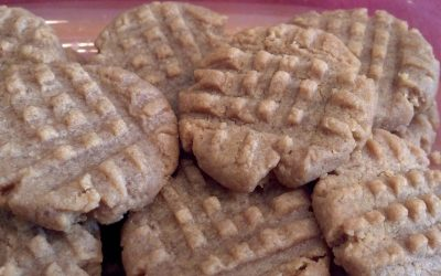 2 Ingredient Peanut Butter Cookies