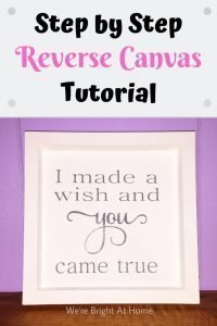 Step by Step Reverse Canvas Tutorial