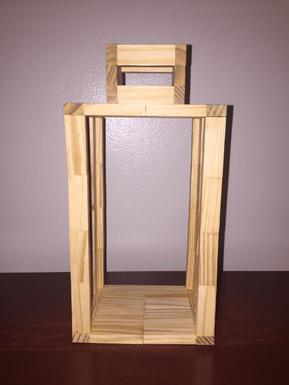 Assembled Farmhouse Lantern