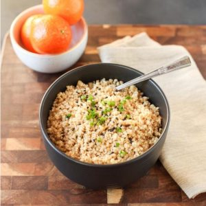 Sesame Orange Instant Pot Quinoa