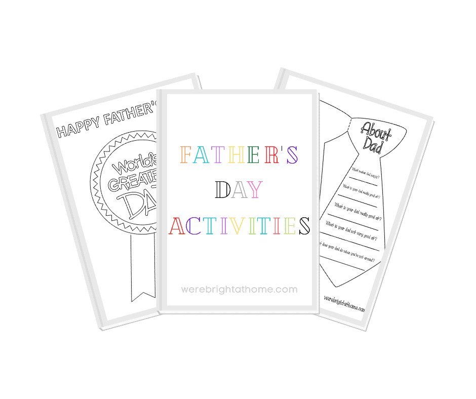 Father's Day Kids Activities